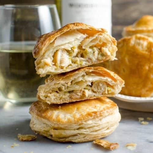 Mini Creamy And Cheesy Chicken Pies The Flavor Bender
