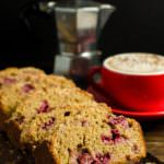 Mixed berry and Peanut Butter Streusel Cake