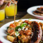 Roasted Panzanella Salad with Balsamic Honey Mustard dressing