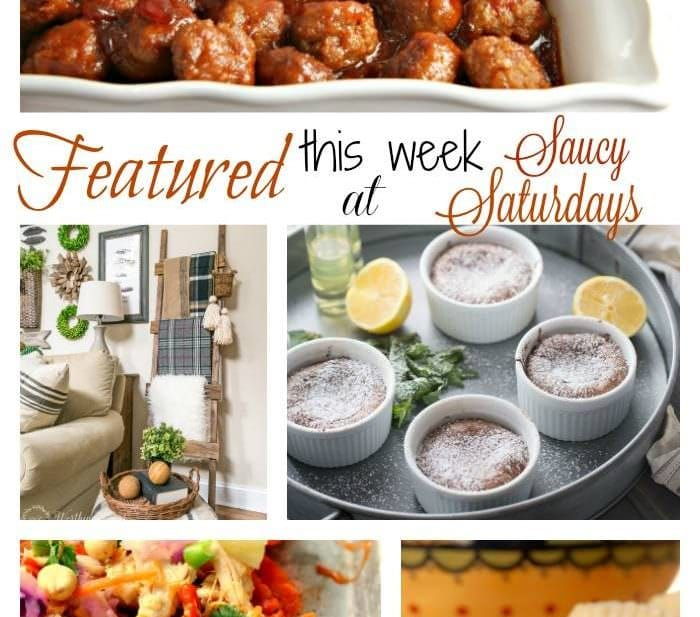 Saucy Saturdays Link up Party 31 Features