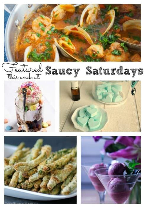 Saucy Saturdays Link up Party 33 Features