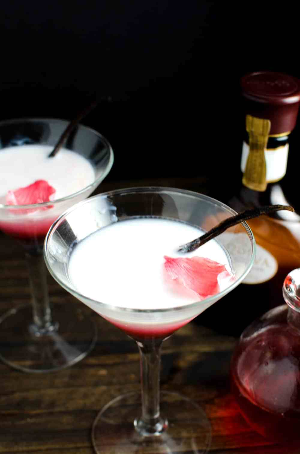 Vanilla Rose and White Chocolate Cocktail   The ...