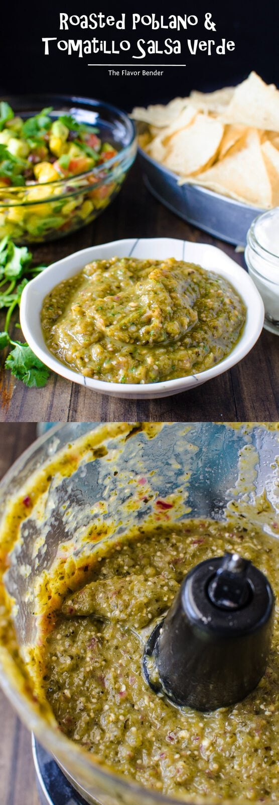 Garlic Salsa Verde Recipe — Dishmaps