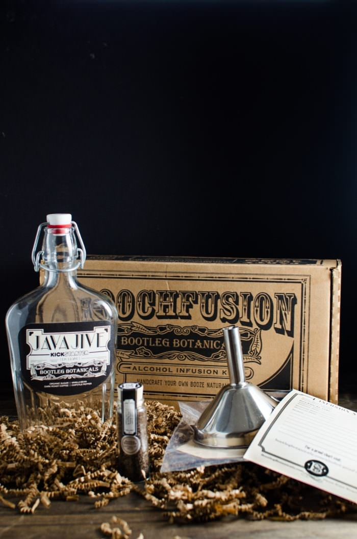 Java Jive - Coffee Liqueur kit - Boozy Iced Coffee Float (Boozy Affogato Float) Give your coffee the Boozy treatment with this delicious Spiked Iced Coffee Float with homemade coffee liqueur (from Uncommon Goods) and Creamy Vanilla Popsicles!