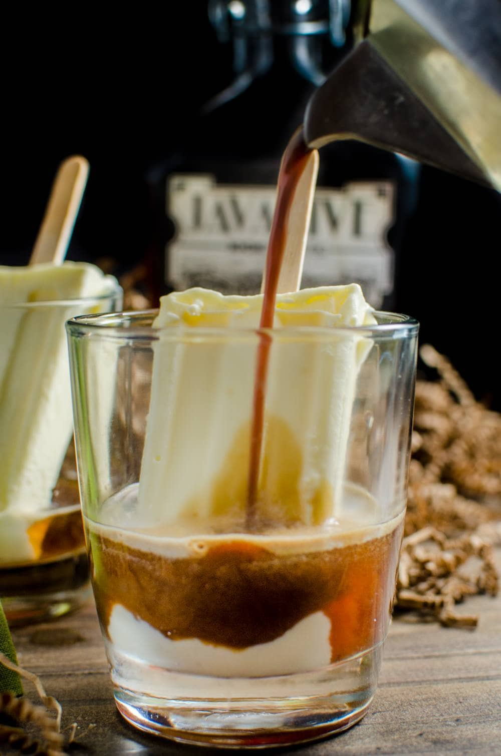Boozy Iced Coffee Float with Homemade Coffee Liqueur | The ...