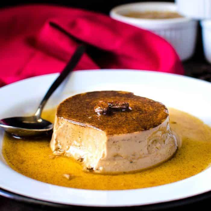 Creamy Coffee Flan {Coffee Crème Caramel}