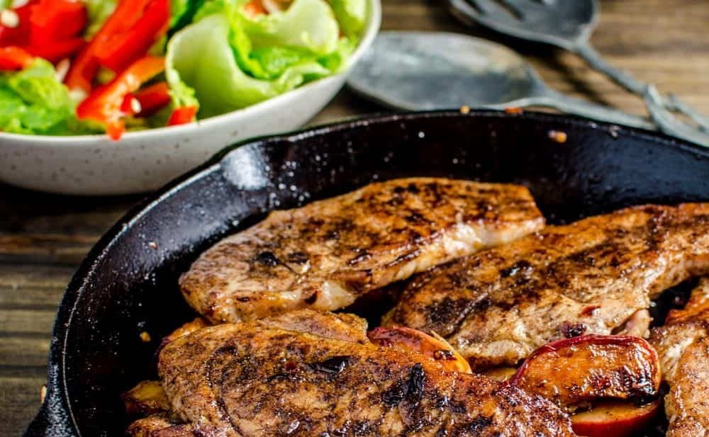 Five-Spice Pork Chops Recipe — Dishmaps