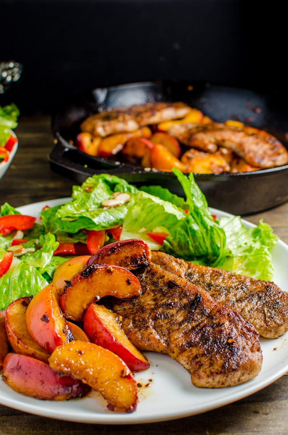 Pan Fried Five Spice Pork And Peaches  Here's Your Answer To An Infinitely  Flavourful Yet