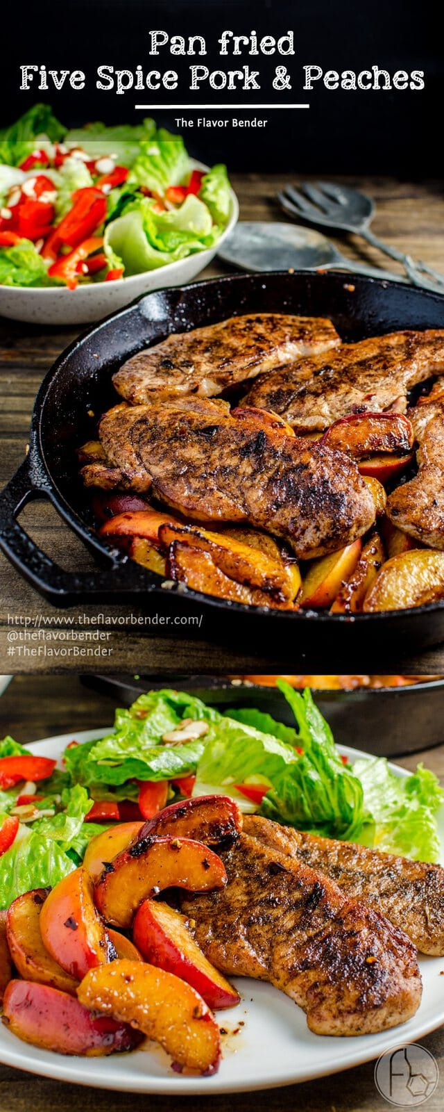 Simple, Pan-Fried Pork Chops Recipe — Dishmaps