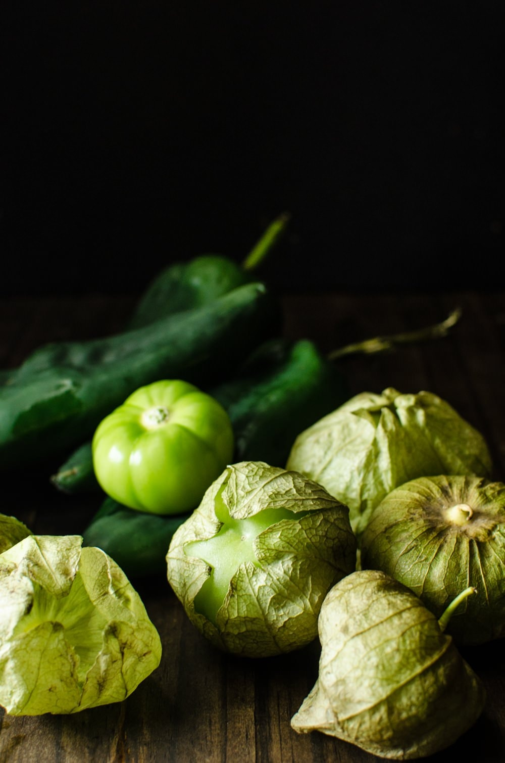 Roasted Poblano and Tomatillo Salsa Verde - So easy to make with big ...