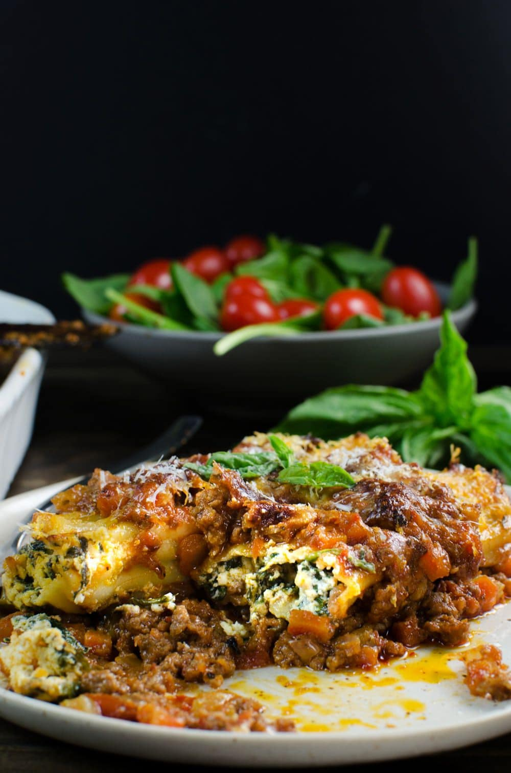 Cannelloni with minced meat - pasta dream