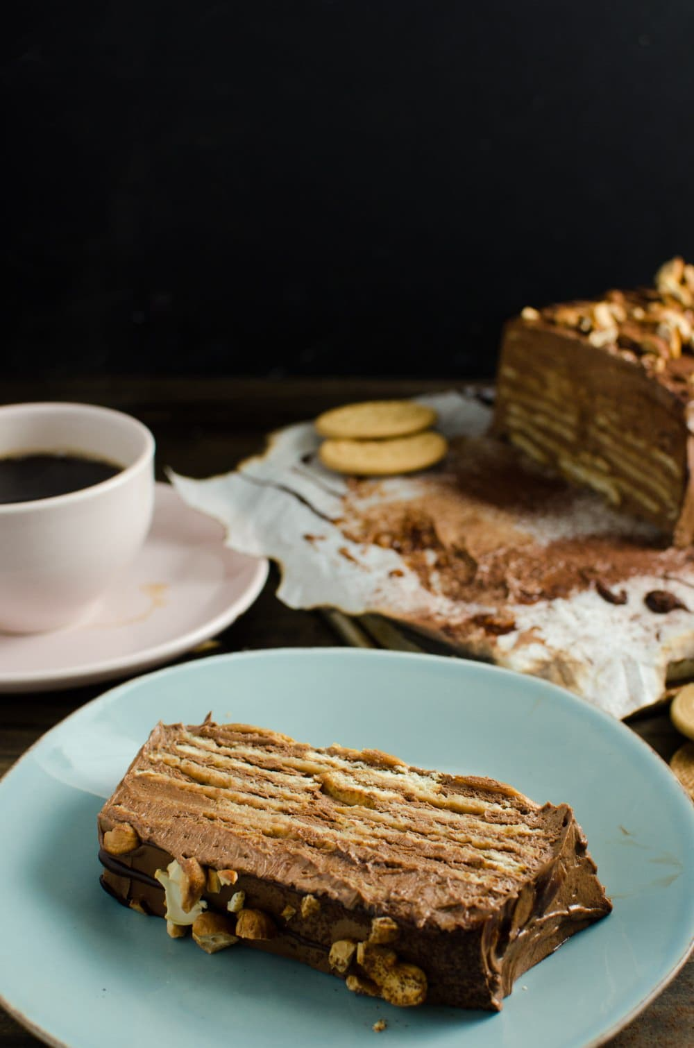 Chocolate Biscuit Cake Recipe Brandy