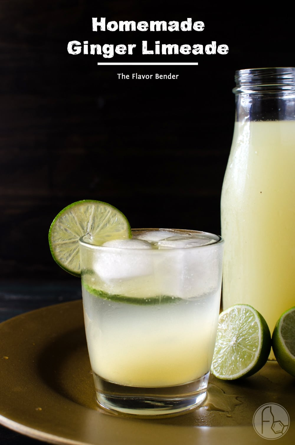 Limeade - a delicious, sweet, tart, drink with the warmth & spicy ...