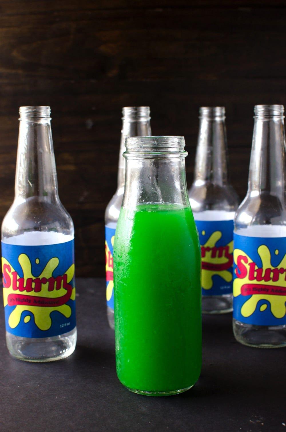 Homemade Slurm drink from Futurama - The Flavor Bender