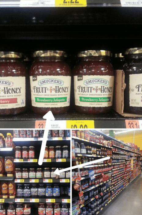 Where to find Smucker's Strawberry Jalapeno Fruit & Honey