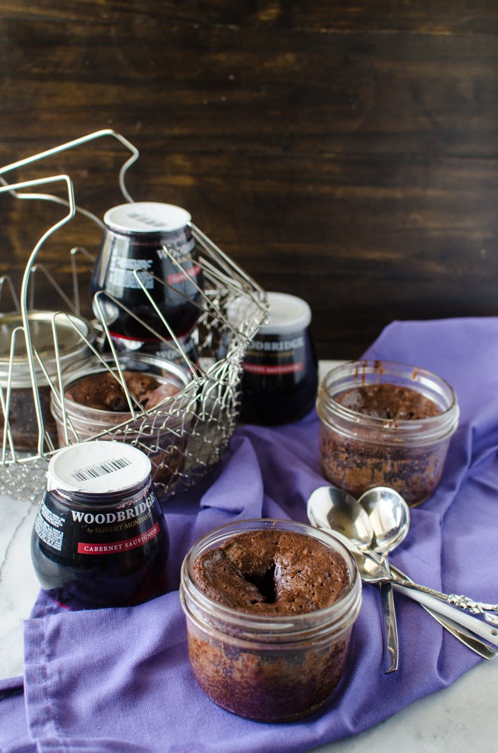 Fudgy Flourless Chocolate Cake In A Jar - these will impress you with ...