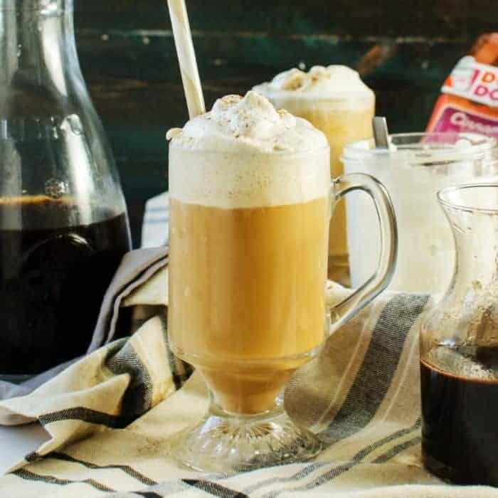 Cinnamon Flavored Cold Brew Coffee