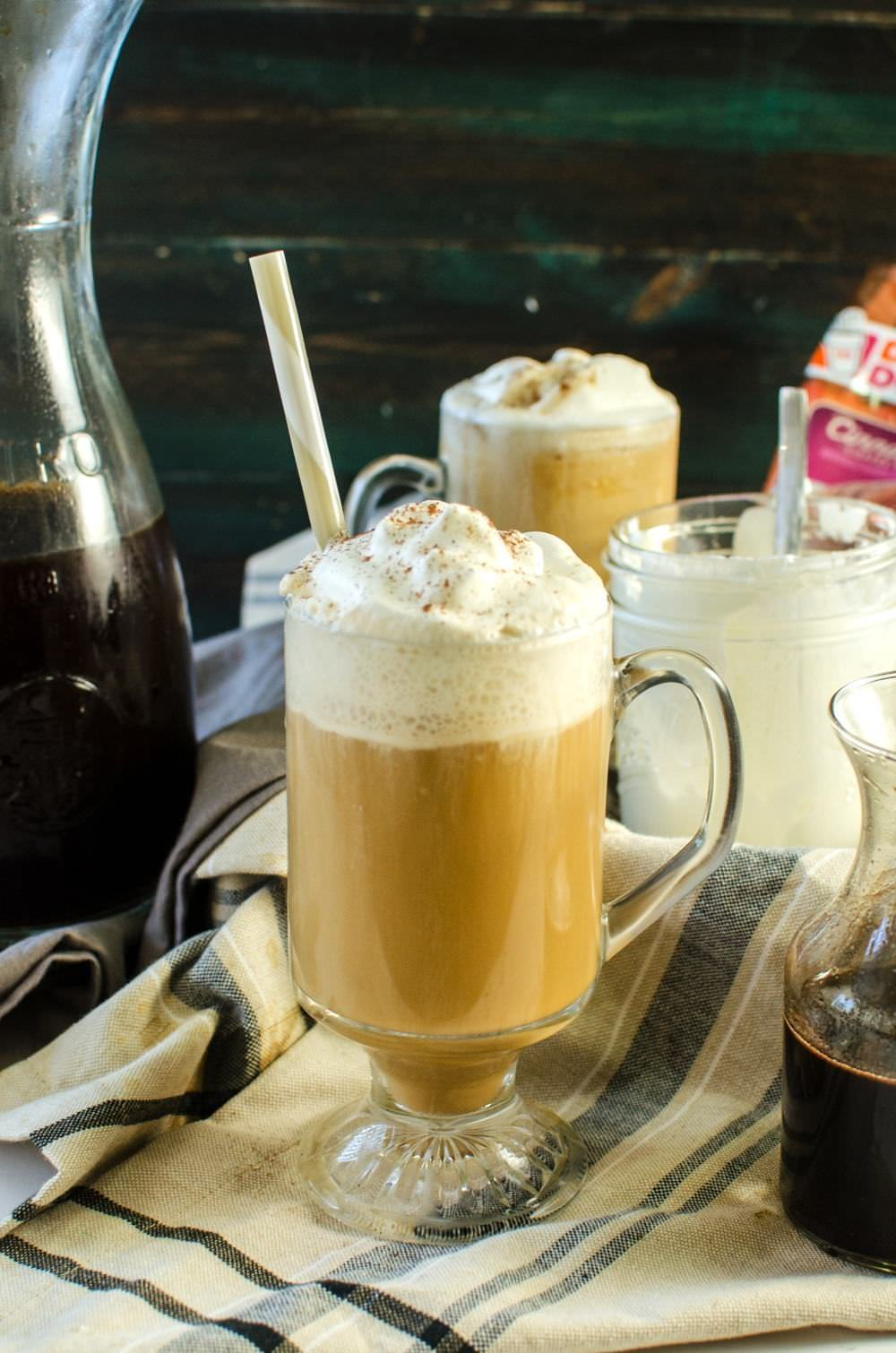 Cinnamon Flavored Cold Brew Coffee | The Flavor Bender