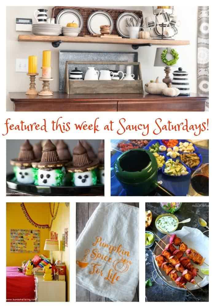 Saucy Saturdays link up 63