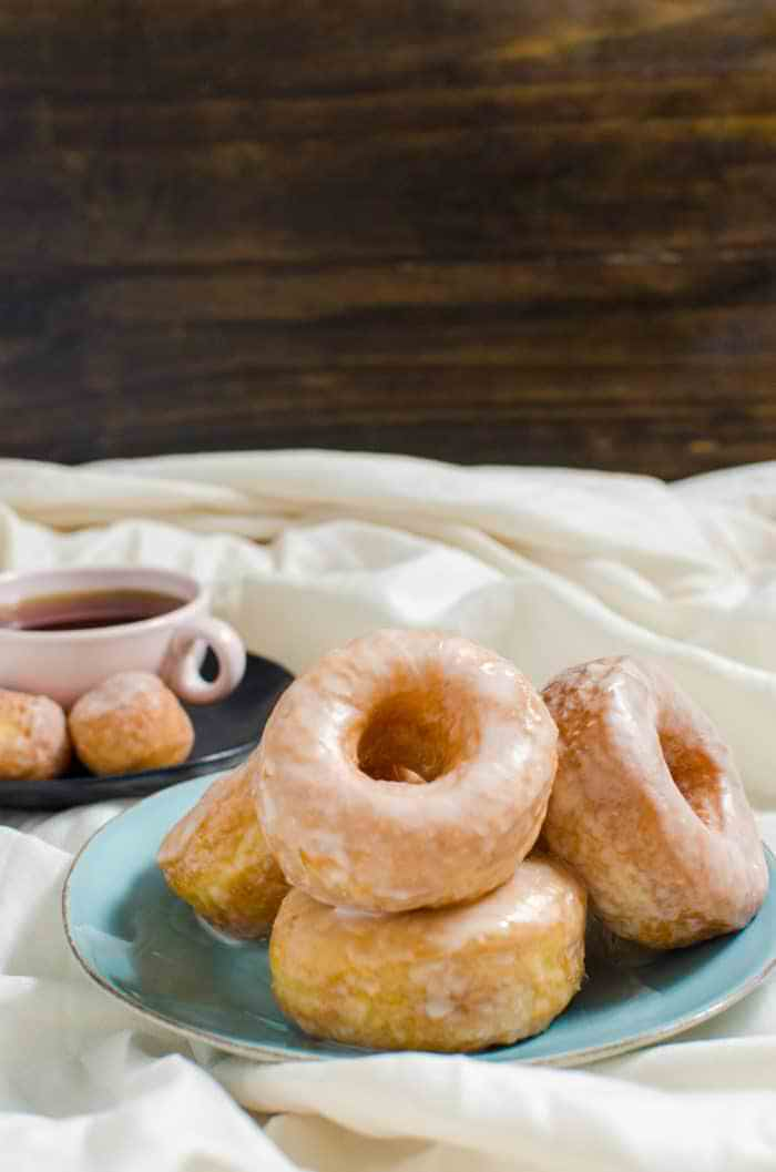 Perfect Glazed Doughnuts - The guide to Perfect Doughnuts with a vanilla glaze with a complete troubleshooting guide. Now you can have perfect doughnuts every single time