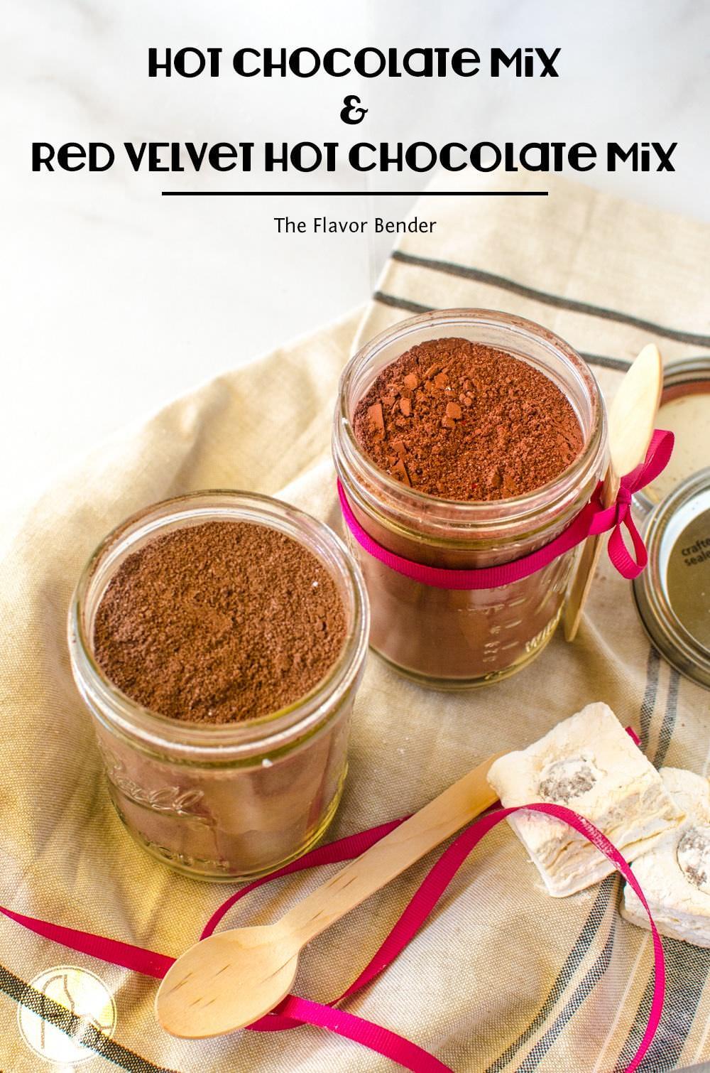 Super Chocolately Hot Chocolate Mix and Red Velvet Hot Chocolate ...
