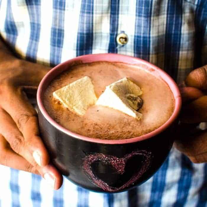 Super Chocolately Hot Chocolate Mix and Red Velvet Hot Chocolate Mix