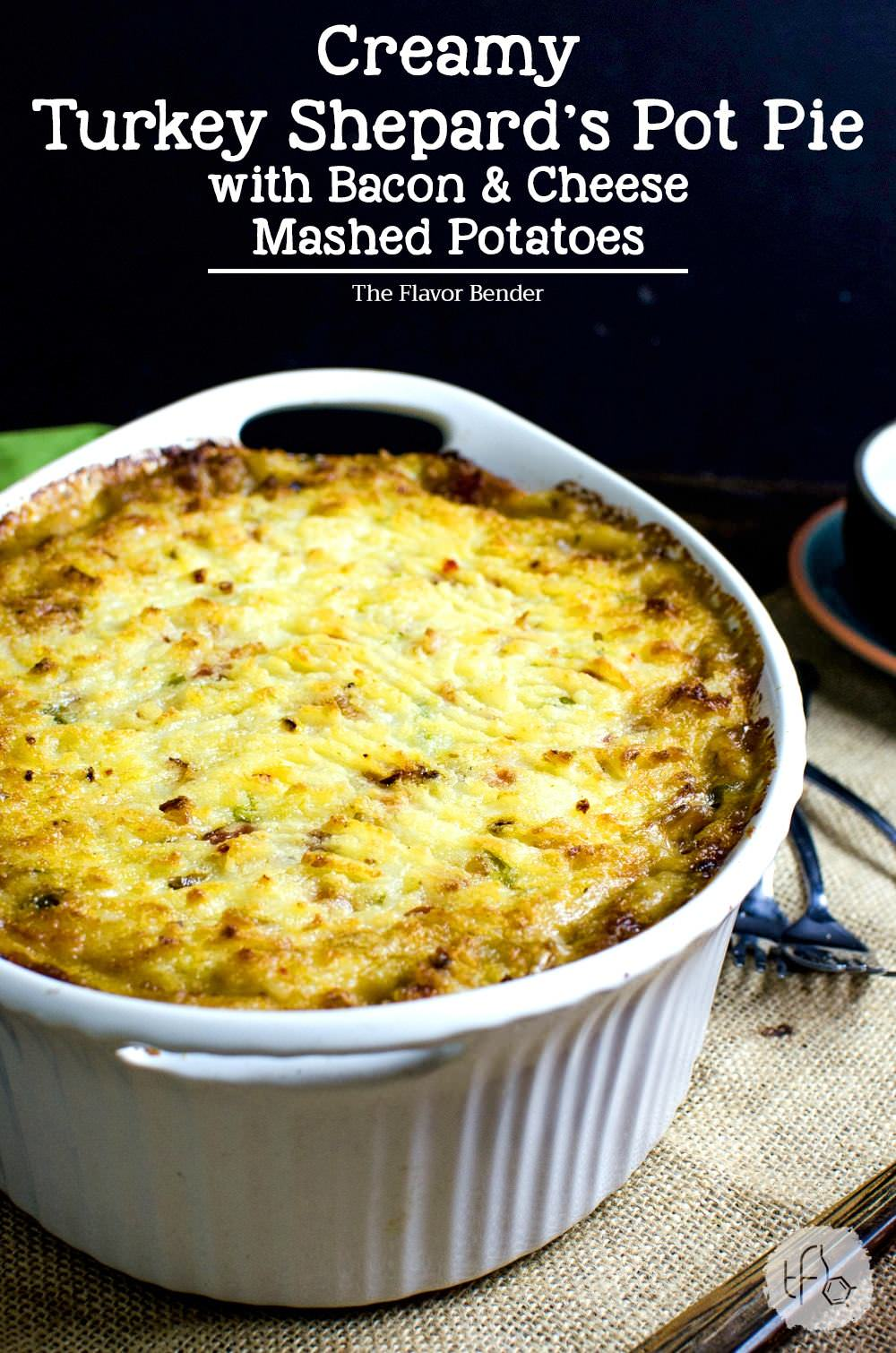 , bacon and creamy mashed potato, and then baked until the potatoes ...