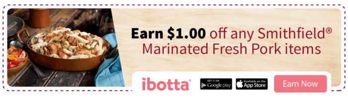 Ibotta coupon for Smithfield