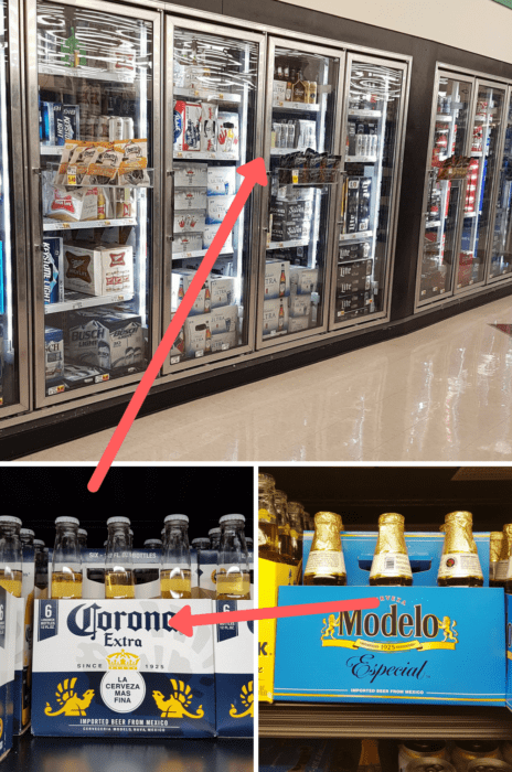 Where to find Corona extra and Modelo