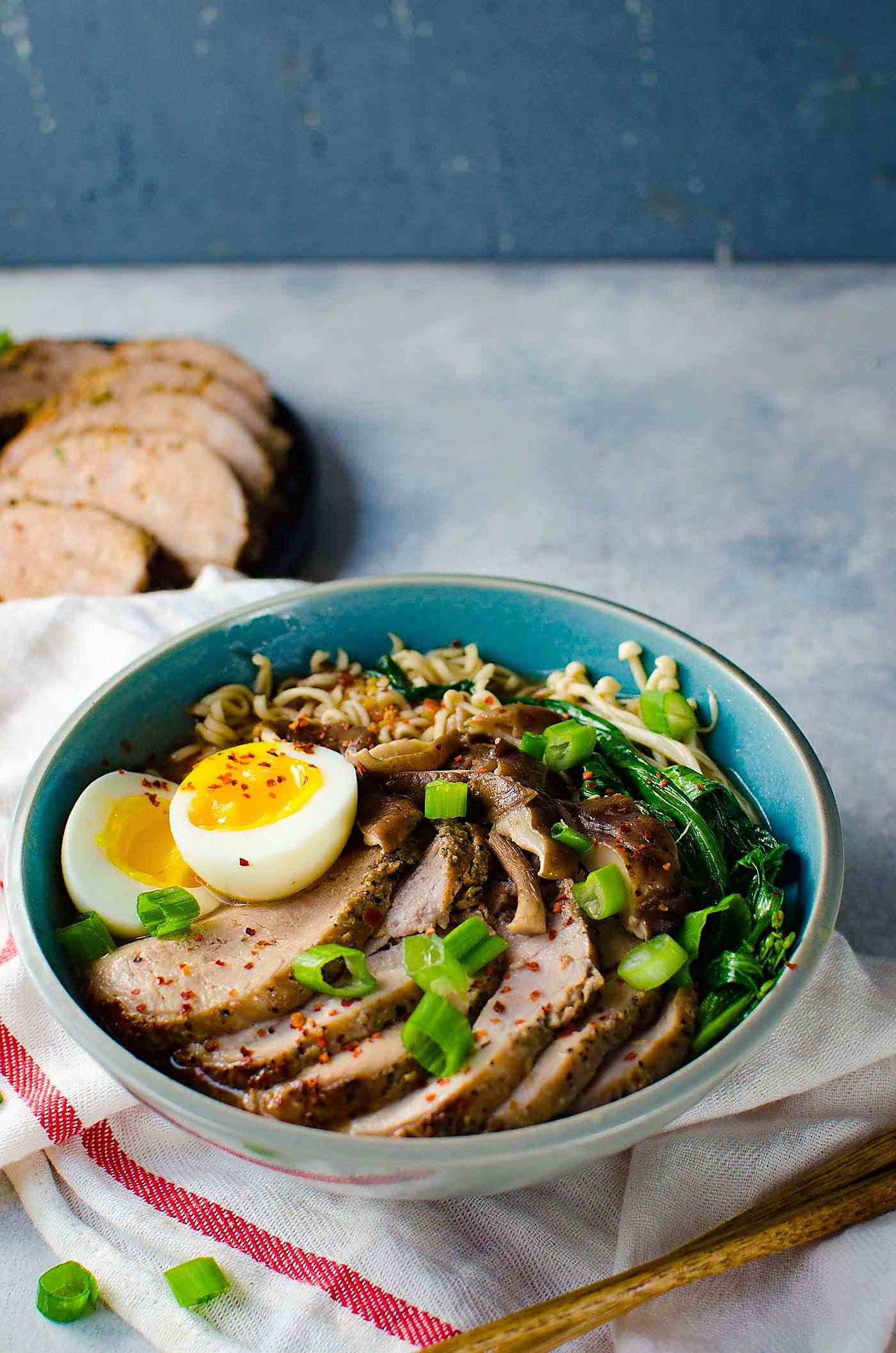 Easy Pork Ramen - The Flavor Bender