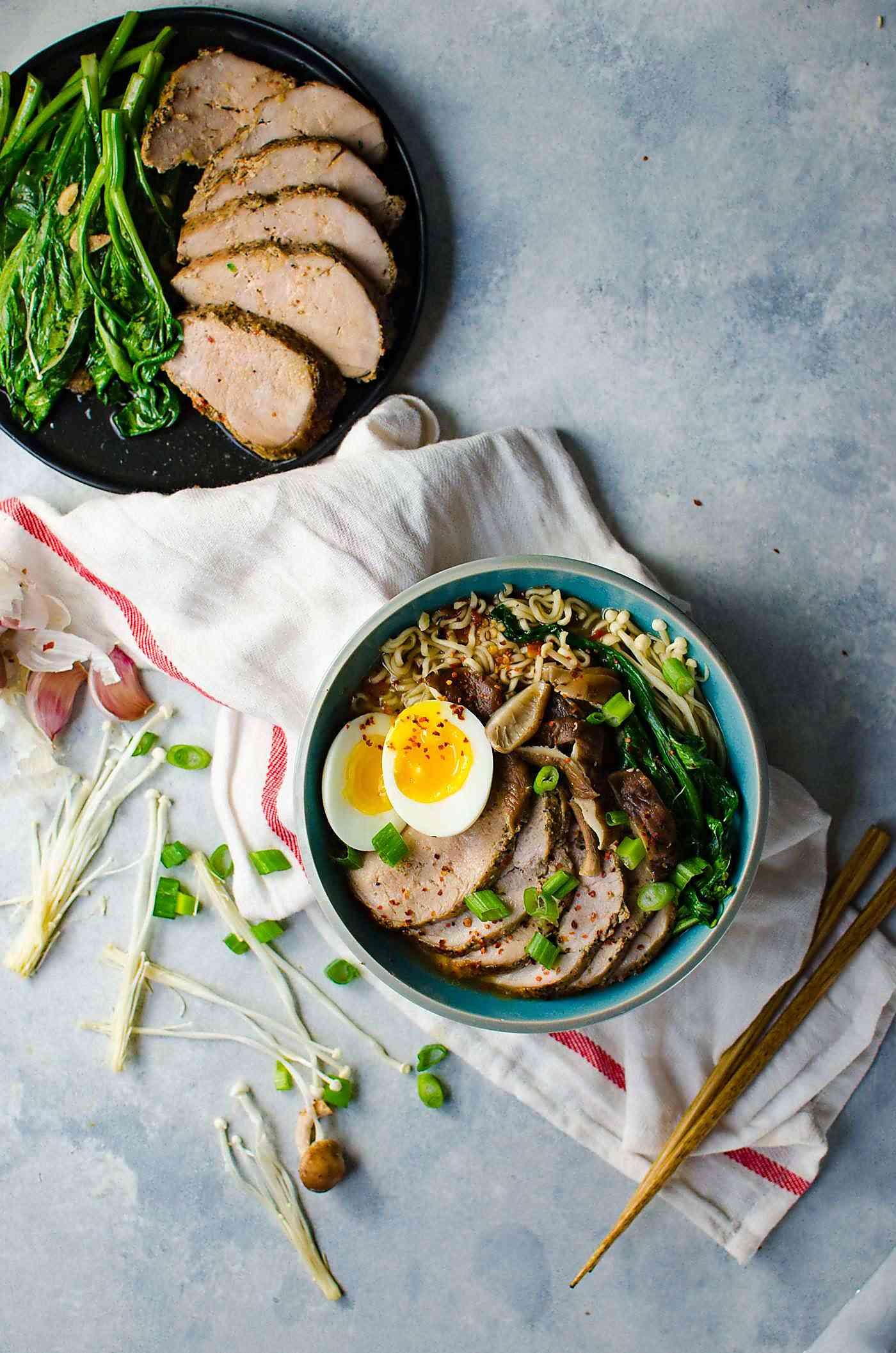 easy pork ramen  the flavor bender