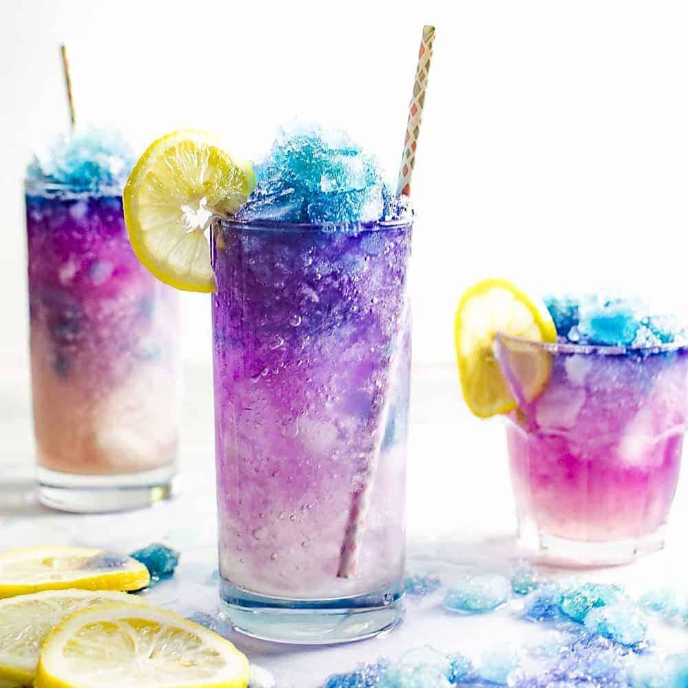Color Changing Lemonade Slushie (Galaxy Lemonade Slushie ...