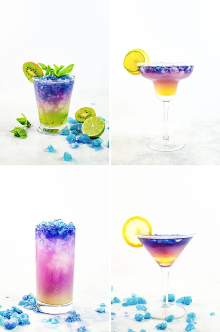 Color Changing Lemonade Slushie (Galaxy Lemonade)
