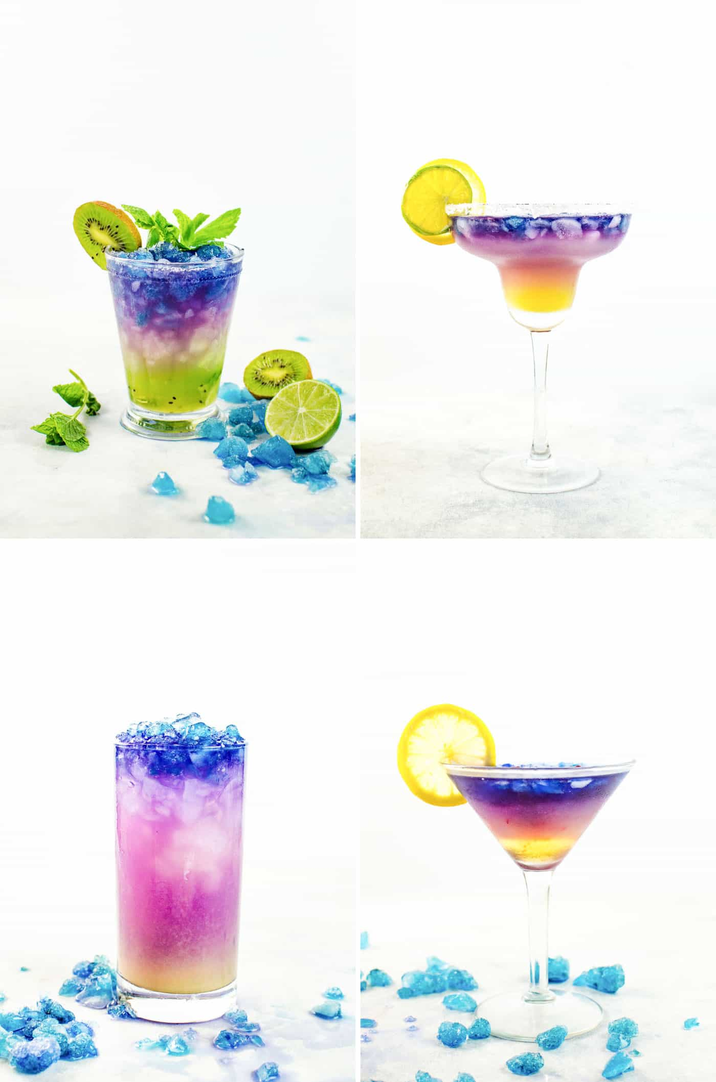 Magical Color Changing Cocktails (Galaxy Cocktail)