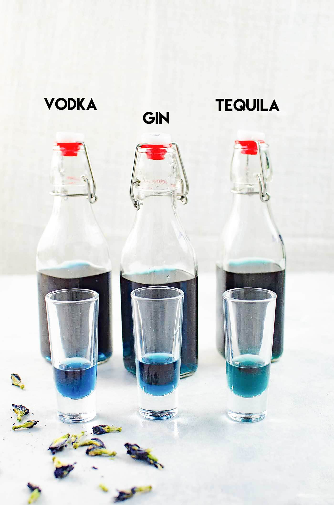 How to make Color Changing Alcohol (Vodka, Tequila and Gin)