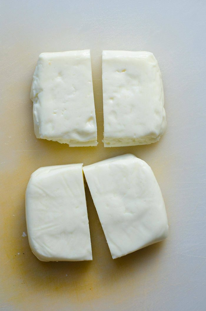 Halloumi Cheese can be prepared in many ways and is best eaten warm! For this recipe I am pan frying the halloumi until golden brown and warm and soft in the middle