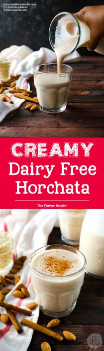 Dairy Free Mexican Horchata - a creamy and refreshing spiced drink with wonderful spices! This is an easy recipe to make Mexican Horchata, with flavor twists that you can try at home!