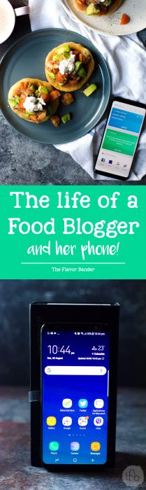 Get a glimpse on how busy a food blogger can be, and how indispensable a good phone can be for day to day activities and time management!
