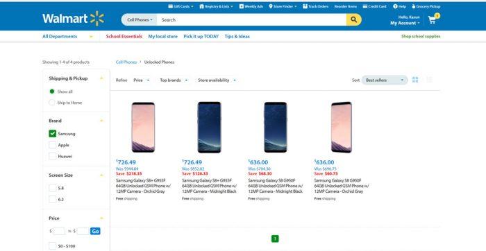 Samsung Galaxy GS8 - Unlocked