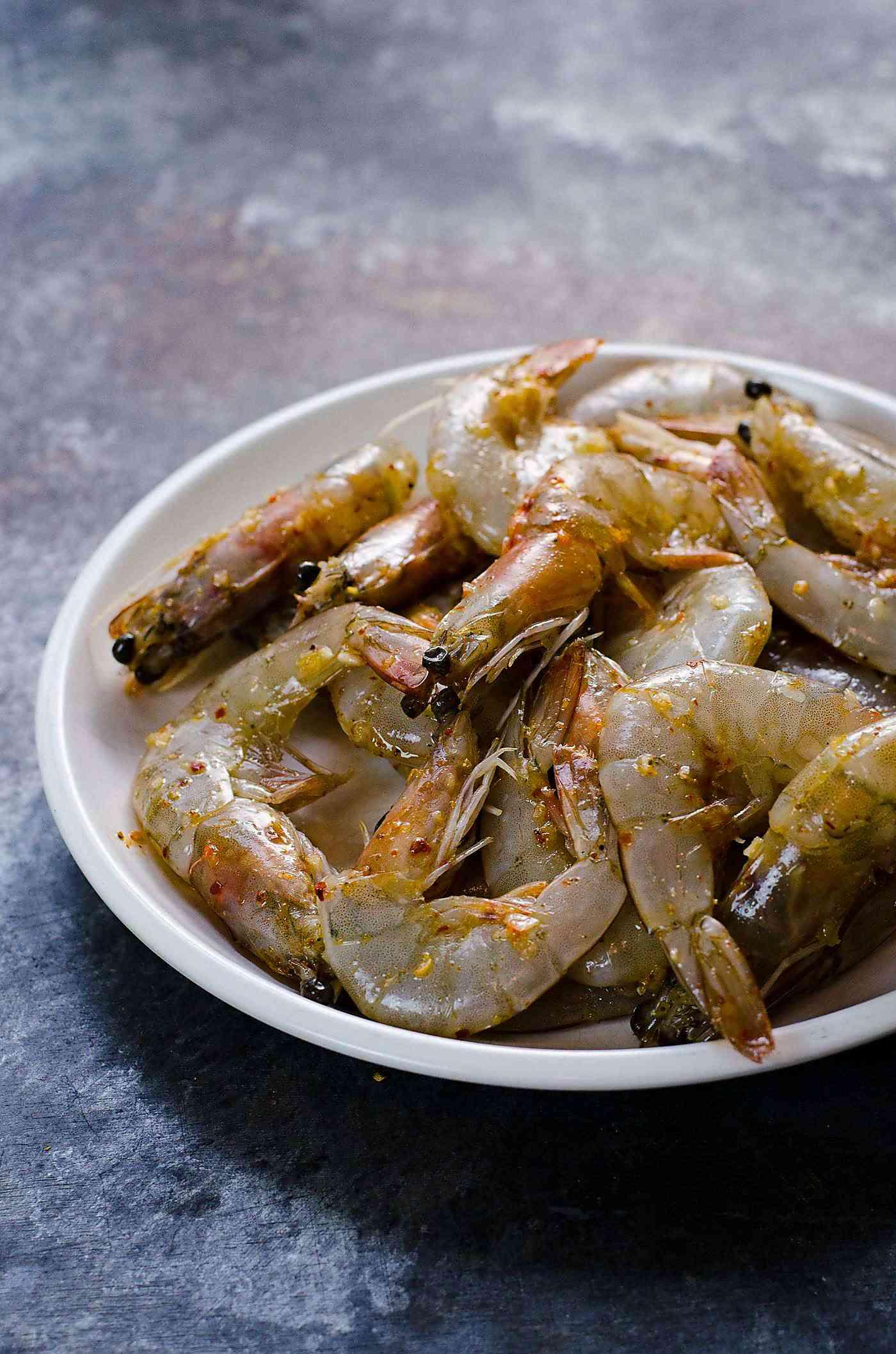 Szechuan Salt and Pepper Shrimp Prawns  The Flavor Bender
