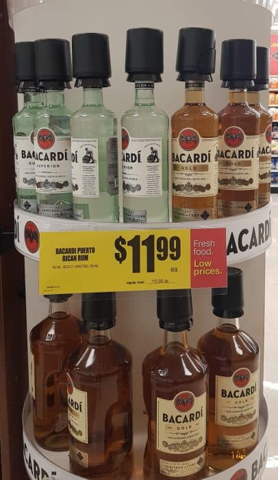 Where to find Bacardi at your local Supermarket