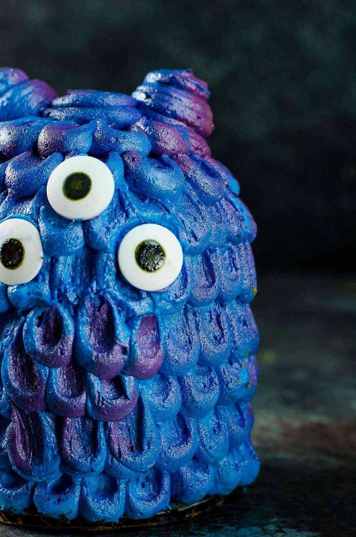 Mini Monster Cakes Step by Step Decorating Tutorial The Flavor
