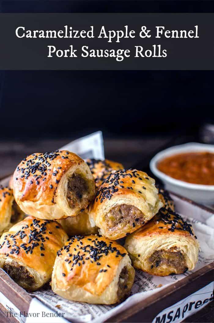 Featured Image - Apple Pork Sausage Rolls