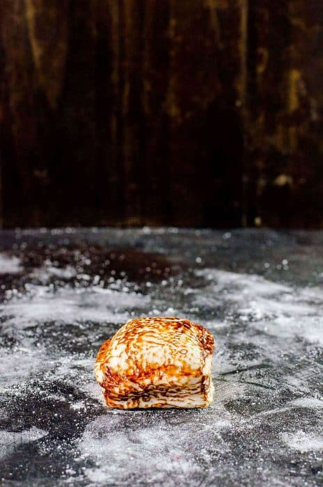 The perfect homemade marshmallow caramelizes and melts beautifully for smores.
