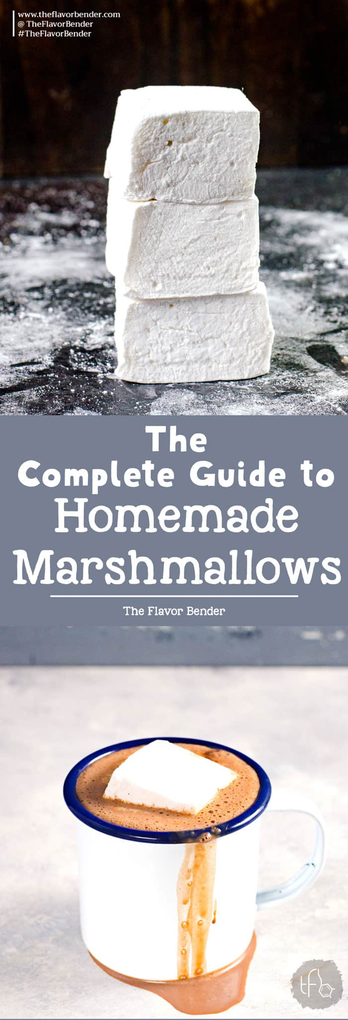 Learn how to make marshmallows without corn syrup (or with corn syrup) with this step by step detailed recipe. Once you know the basics, you can make perfect vanilla marshmallows every single time.