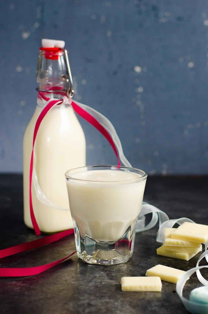 Homemade White Chocolate Liqueur | The Flavor Bender