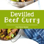 Sri Lankan Devilled Beef - A delicious spicy dry beef curry that combines Sri Lankan and chinese cuisine with devilishly flavorful results! #SriLankanRecipes #BeefCurry