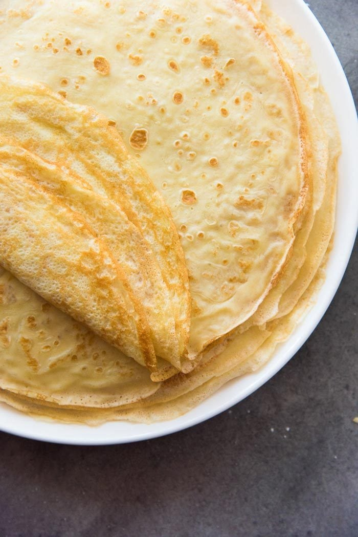 Classic French Crepes Basic Crepes The Flavor Bender