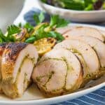 Sous Vide Turkey Roulade is cooked slow and low in the sous vide to guarantee the most perfectly tender, juicy, succulent results! Perfect for Thanksgiving and Christmas!