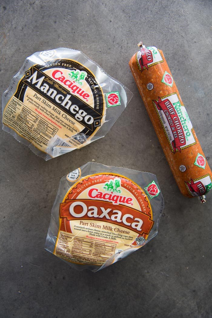 Cacique Cheese and chorizo